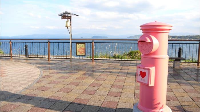 鹿児島 ポスト ピンク