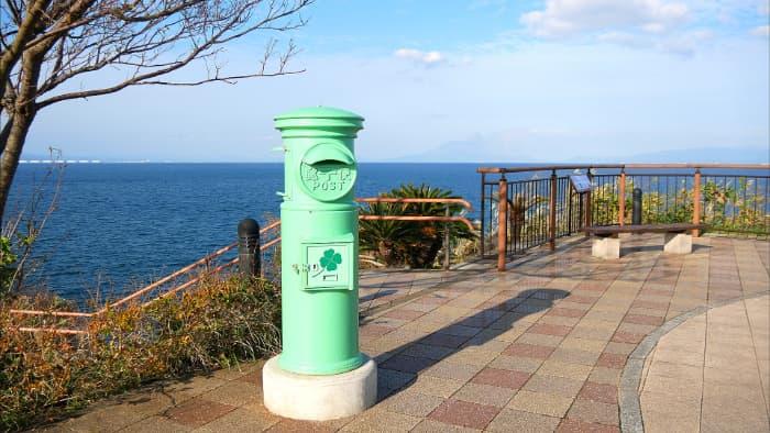 緑のポスト 鹿児島